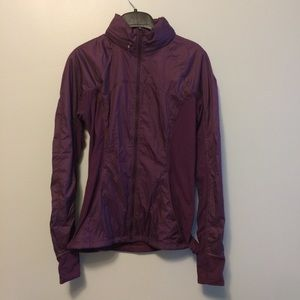 Lululemon Rush Hour Jacket Purple Size 4 NWOT